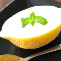 なめらか食感フルーツアイス(レモン)