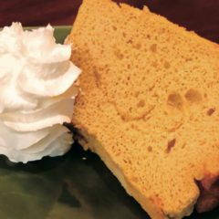 米粉のてづくりシフォンケーキ